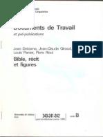 L. Panier et al_Bible, récit et figures