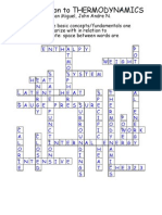Thernmo Crossword Puzzle Answer Keypdf