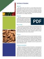 Food Sources Antioxidants