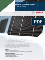 Bosch Solar Cell M 3BB C4 1200 En