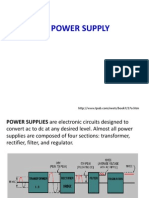 Filtered Power Supply