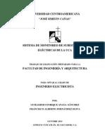 Monitoreo en Subestaciones Uca 2013