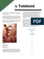 Rogue Games Tabbloid -- August 15, 2009 Edition