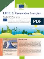 Factsheet LIFE & Renewable Energies