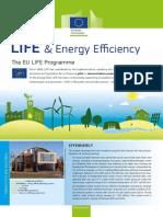 Factsheet LIFE & Energy Efficiency