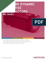 Moog ServoMotors MDSeries Catalog En