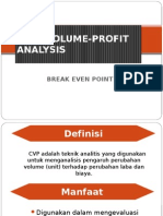 Cost-Volume-profit Analysis Bu Alni