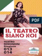 Il Teatro Siamo Noi - catalogo