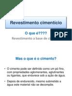 Revestimento cimentício 2011- pré_moldados