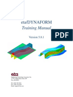 DF5.8.1 Formability Training Manual