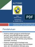 Autisme Power Point Presentation PPT