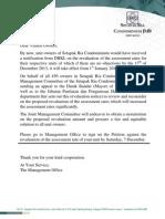 Dbkl Notice on Dbkl Assessment
