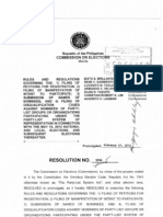 COMELEC Resolution 9366