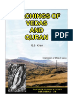 Teachings of Vedas and Quran