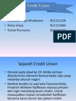 Credit Union (CU)