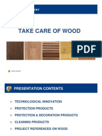 Take Care of Wood