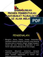 35960241 Proses Pembentukan Masyarakat Pluralistik Di Alam Melayu