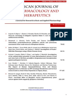 Volume 1 Issue 3 Nov 2012 - Abstracts