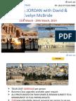 ISRAEL & JORDAN Tour with David & Evelyn McBride in 2014