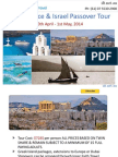 2014 Greece & Israel Passover Tour