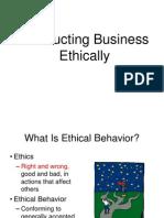 2. Business Ethics & Responsibility