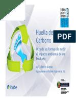 Huella de Carbono. Características y Principios básicos