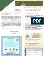 YA Newsletter Aug 15