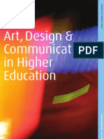 Art, Design and Communication in Higher Education