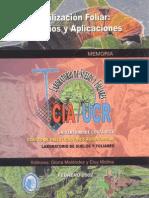 Fertilizacion Foliar Principios y Aplicaciones