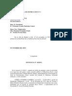 Sentencia de la Audiencia Nacional por el tartazo a la  presidenta de Navarra, Yolanda Barcina