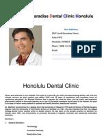 Honolulu Dental Clinic