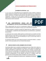 Investigacion de Ingenieria de Produccion II 2da