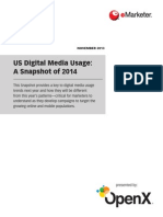 US Digital Media Usage 2014