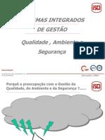 Sistemas gestão integrados - princípios comuns