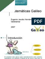 Galileo matemáticas