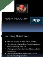 Health Promotion Lec