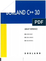 Borland C++ 3.0 Library Reference