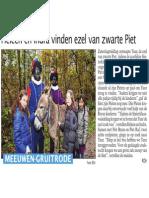 HBVL - 26/11/2013 - Heleen en Indra vinden ezel van Zwarte Piet