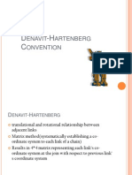 Denavit Hartenberg Convention
