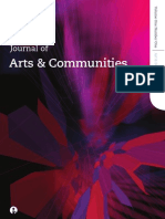 Journal of Arts and Communities