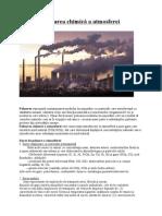 Poluarea chimică a atmosferei