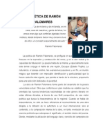 La poética de Ramón Palomares