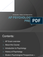 AP Psych Prep 1 - Intro, History, Approaches