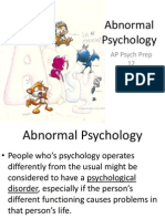 AP Psych Prep 12 - Abnormal Psychology