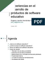 Experiencia Galileo 2003-2007