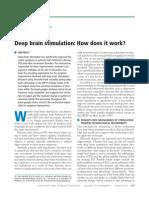 Deep Brain Stimulation How Does It Work