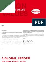 德国汉高Henkel_Vision_and_Values_EN