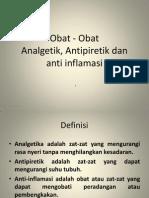 Farmakologi Anti Inflamasi