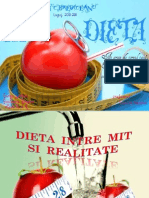 Dieta Intre Mit Si Realitate