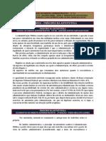 PRINCÍPIO DA AUTOTUTELA - DIREITO ADMINISTRATIVO
